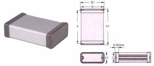 code s109 coffret boite fab hammond. Black Bedroom Furniture Sets. Home Design Ideas