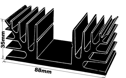 code u215 refroidisseur radiateur dissipateur. Black Bedroom Furniture Sets. Home Design Ideas